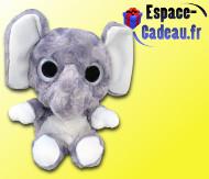 Peluche Gros Yeux - L'éléphant