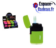 Briquet double flamme PROF