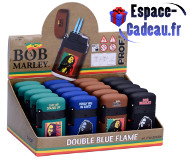 Briquet Bob marley double flamme