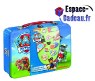 Paw patrol magnets valisette métal