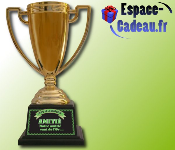 Coupe de champion(e) - Amitié