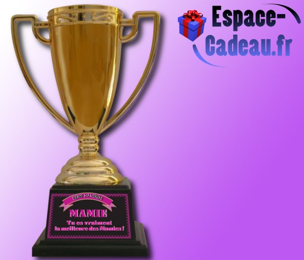 Coupe de champion(e) - Mamie