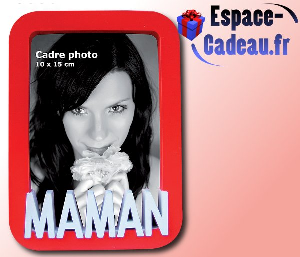 "Cadre photo relief ""Maman\"""