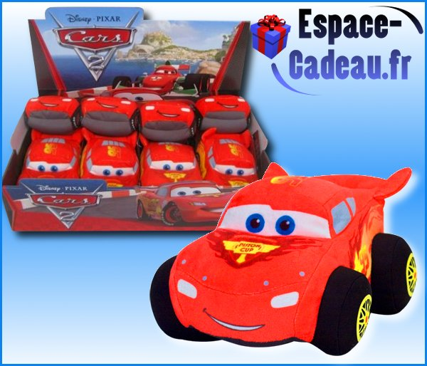 Peluche Cars [Flash Mc Queen]