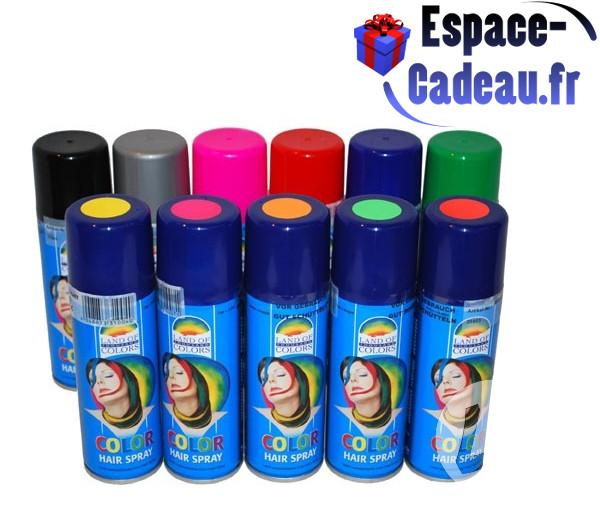 Bombe de couleur pour cheveux espace cadeau - Bombe contact electronique ...