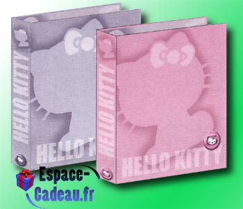 Classeur A4 Hello Kitty [Silver]