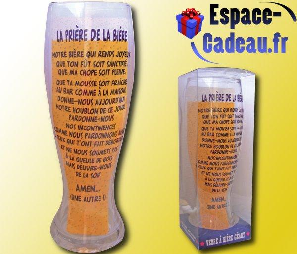 Fabulous Verre à bière géant [Prière] GP97