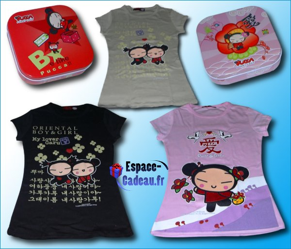 Coffret T-Shirt Pucca