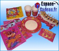 Set de gouter ourson fille