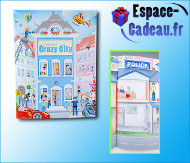 Create your Crazy City [Coloriage et stickers]