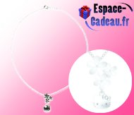 Collier laiton Hello Kitty [Flowers]
