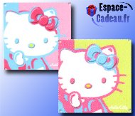 Plaque métal décorative Hello Kitty