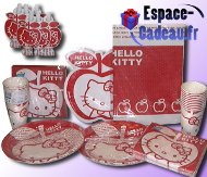 Set de table Hello Kitty [Anniversaire]