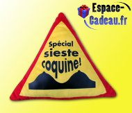Coussin humour [Sieste coquine]