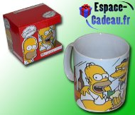 Mug g�ant Simpsons