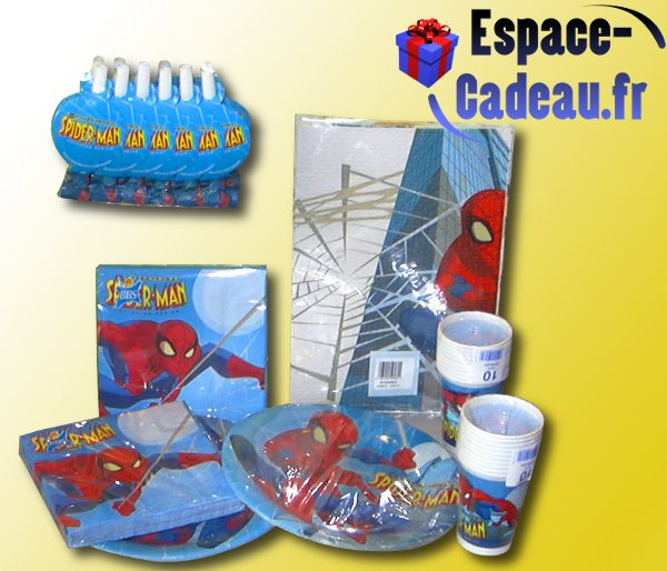 Set de table Spiderman [Anniversaire]